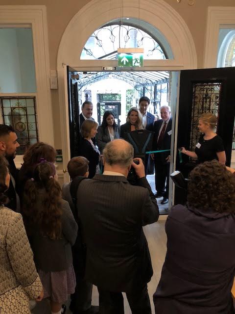 Tessy de Nassau and friends officially open the new Montessori School HQ in London
