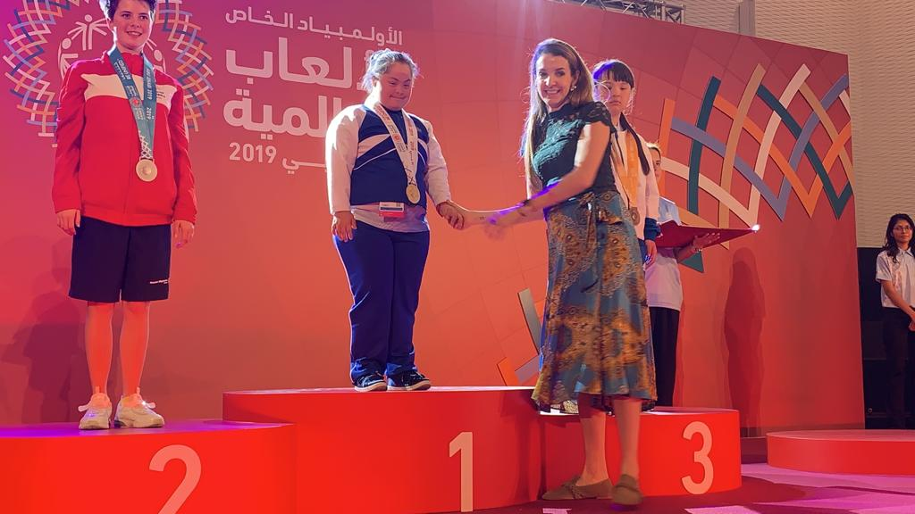 Princess Tessy reports on day 3 of Special Olympics – A day for Champions