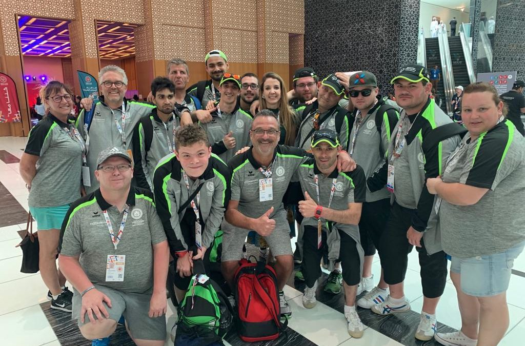 Princess Tessy reports on day 4 of Special Olympics – 'and the last report from me'
