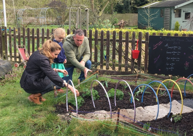 Who is this royal visitor at a Norfolk nursery school?